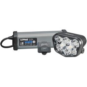 Lupine Alpha 7200 lm Lámpara de casco Cargador de batería SmartCore de 6,9 Ah Un mando a distancia+Peppi